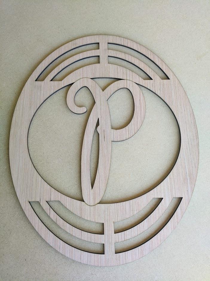 New Monogram Wreath Rail