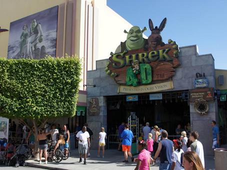 Universal Studios Orlando Announces Closing of Shrek 4D ride