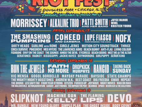 GIVEAWAY ALERT: GO TO RIOT FEST IN CHICAGO ON US!
