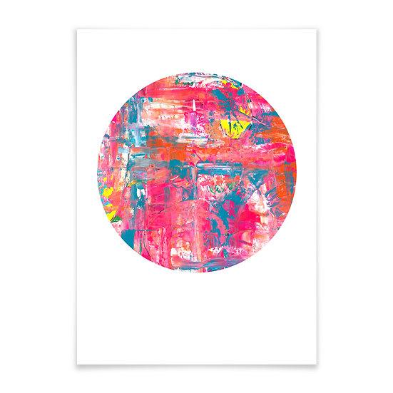 Pink Flash rund