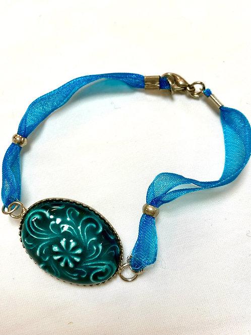【送料無料】トルコ・キュタフヤ陶器アクセサリー ブレスレット Turkish Bracelet TB01