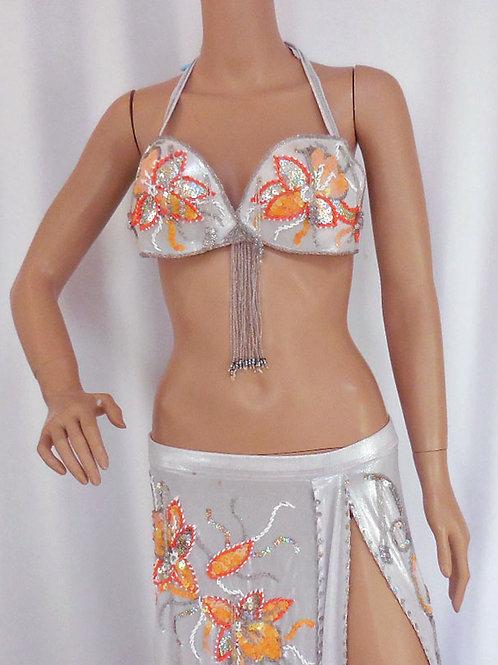 【ベリーダンス衣装 フルセット】Dunya】DH2018 エジプシャン衣装