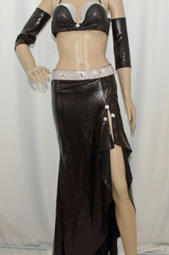【ベリーダンス衣装 フルセット】Dunya】DH084 エジプシャン衣装