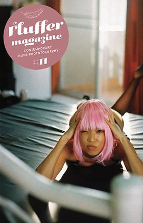 Fluffer Magazine Tara Lucia Prades Cover Story Analog Photography by Corrado Serri