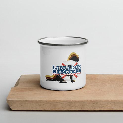 Enamel Mug with LR Logo