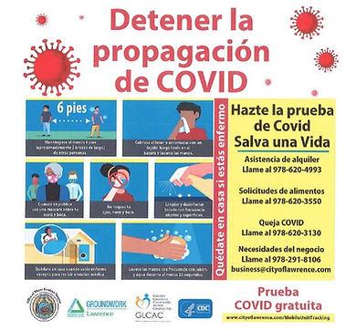 Detener la propagacion de COVID