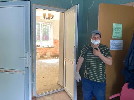 Ремонт Давыдчинского сельского Дома культуры продолжается