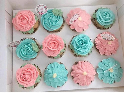 花形Cupcake 教學