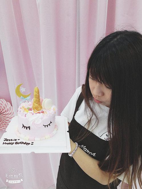unicorn蛋糕教學