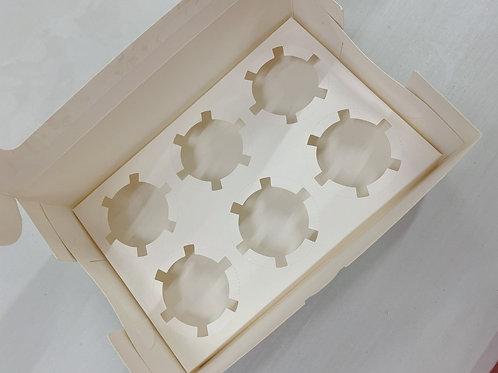 Cupcake 盒 (6件裝)