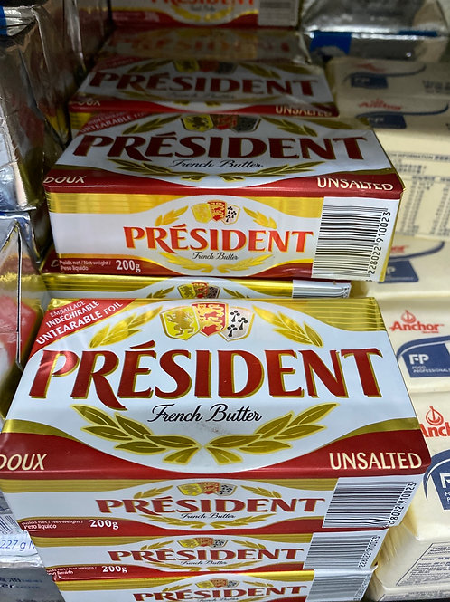 總統牌無鹽牛油