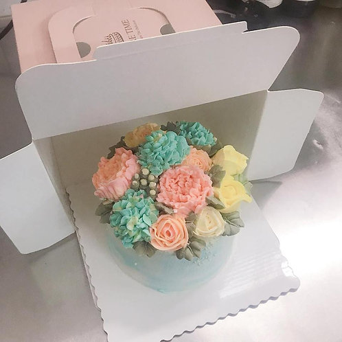 Buttercream唧花蛋糕