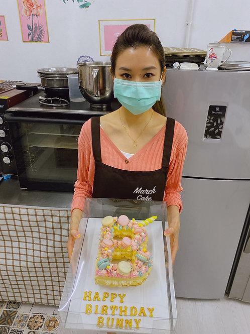 字母蛋糕 烘焙教學