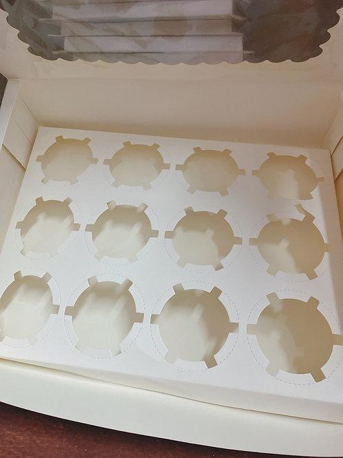 Cupcake盒 12件裝