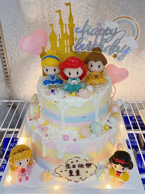 Q版公主蛋糕