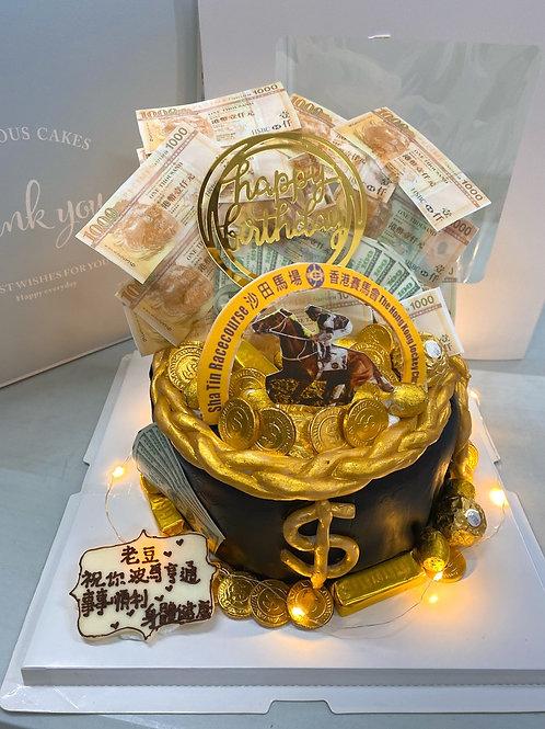 賽馬錢錢蛋糕