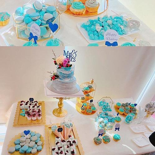 婚宴甜品台