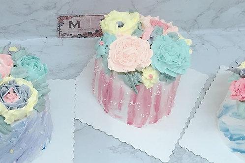 Buttercream花蛋糕