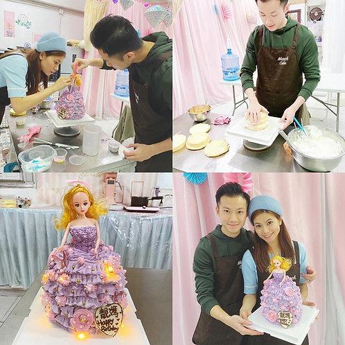 barbie蛋糕