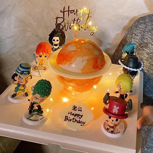 海賊王星球蛋糕