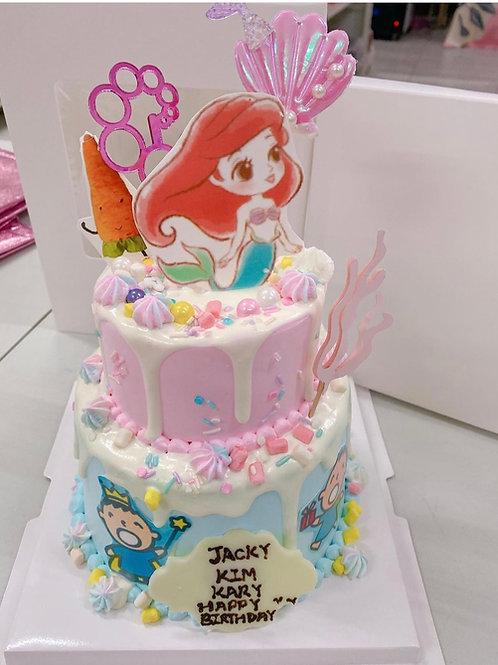 卡通主題蛋糕