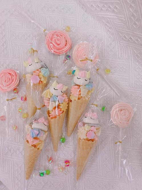 unicorn回禮禮物 甜品台佈置