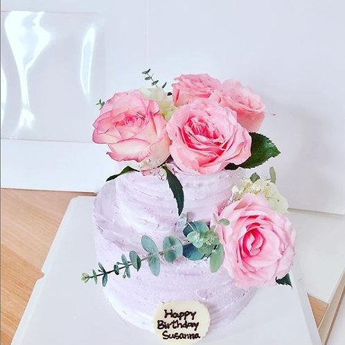 大雙層鮮花蛋糕
