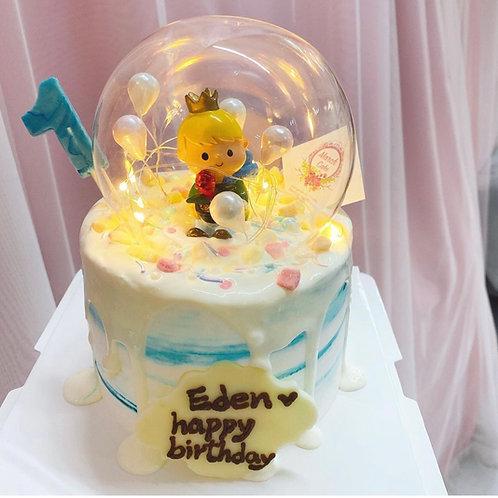 小王子水晶球蛋糕