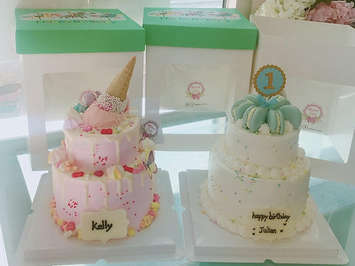 雙層蛋糕 兩款同價