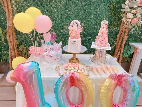 百日宴甜品台