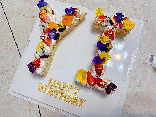 字母蛋糕 YI
