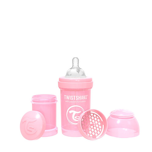 Mamadera Twistshake Anti-Cólicos 180ml 0+meses