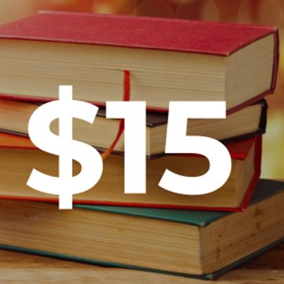 $15 Pledge
