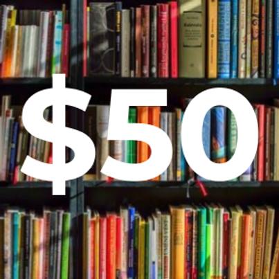 $50 Pledge