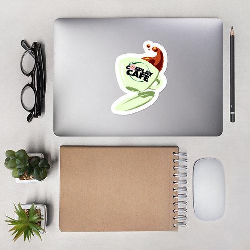 Cafe Float Sticker