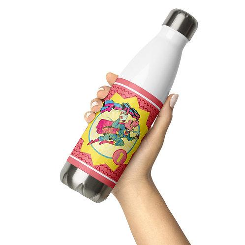 Superhero Month Water Bottle
