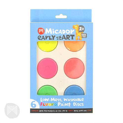 Early Start Washable Paint Discs