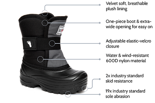 Stonz Scout Winter Boots - 5T-9T