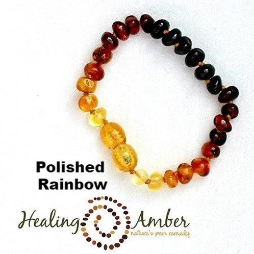 """Healing Amber - 5.5"""" Bracelet/Anklet"""