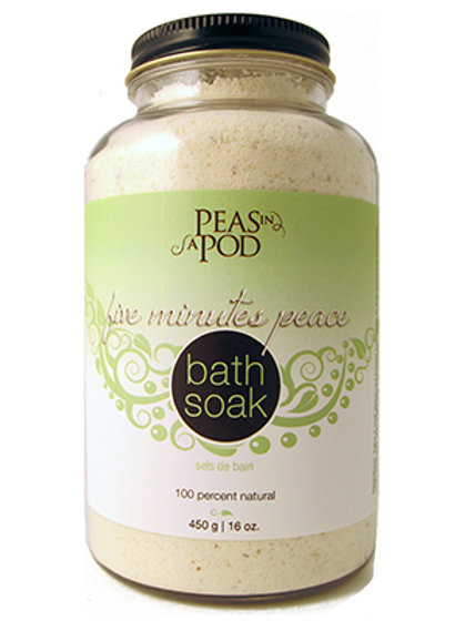 Five Minutes of Peace Bath Soak (450g)