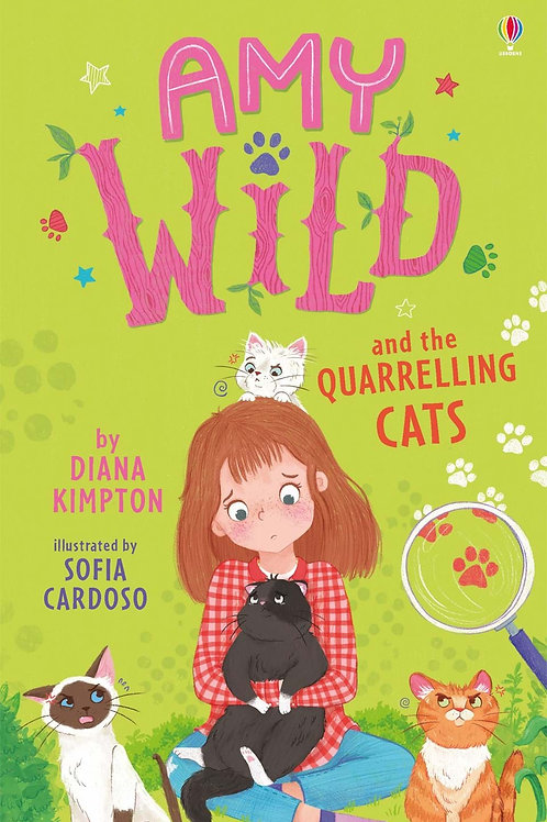 Amy Wild And The Quarreling Cats