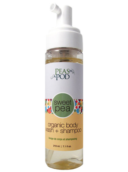 Sweet Pea Organic Body Wash & Shampoo