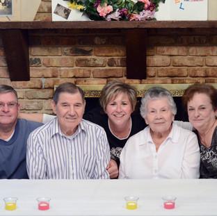 Rick, Dad, Lisa, Mom & Ruth