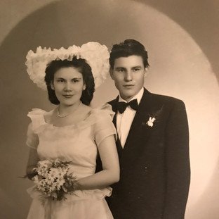 Mom and Dad at Another Wedding