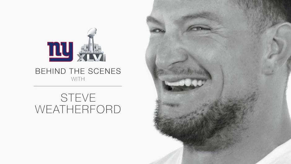 Steve Weatherford | Behind The Scenes
