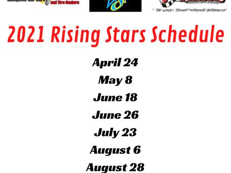 2021 Rising Stars Schedule