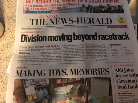 Front Page Coverage!