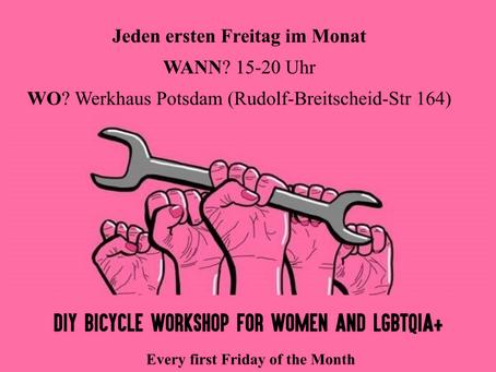 Urlaubszeit: keine Fahrrad-Selbsthilfewerkstatt am Freitag, 06.08.