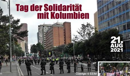Tag der Solidarität mit KOLUMBIEN - 21.08.2021
