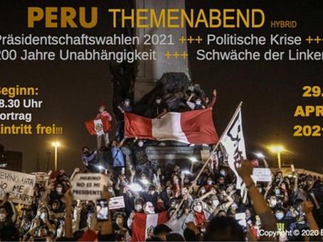 Themenabend PERU am 29.April 2021